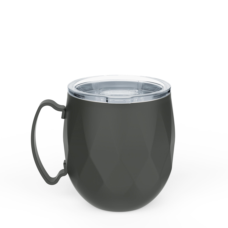 Fractal 19 ounce Mule Mug, Charcoal slideshow image 5