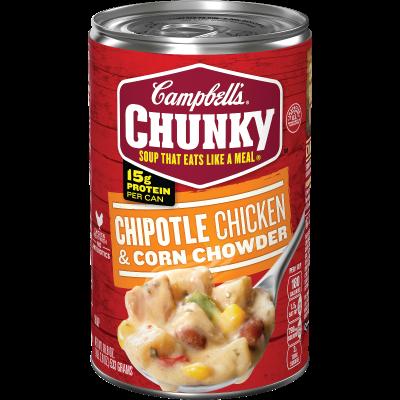 Chipotle Chicken & Corn Chowder