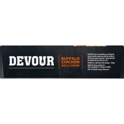 DEVOUR Buffalo Style Chicken Mac & Cheese Frozen Meal, 12 oz Box