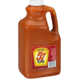 HEINZ 57 Sauce Plastic Jug, 1 gal. Container (Pack of 2) image