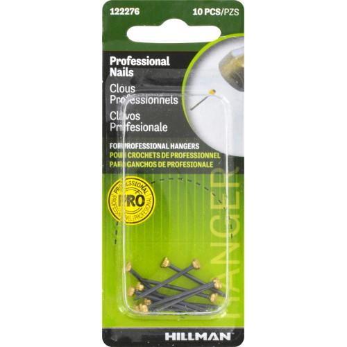 Hillman Classic Blued Hanger Nails 10 Pack