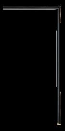 Fillets and Liners Fillet Black 3/16