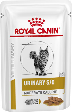 Feline Urinary SO Moderate Calorie Morsels in Gravy