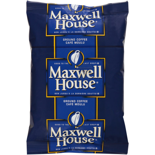 MAXWELL HOUSE Roast & Ground Coffee, 7 oz. Bag (Pack of 45)