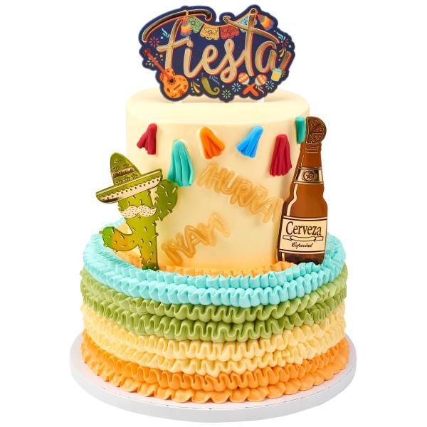 Fiesta Tassels Assortment Sweet Décor™ Edible Decorations