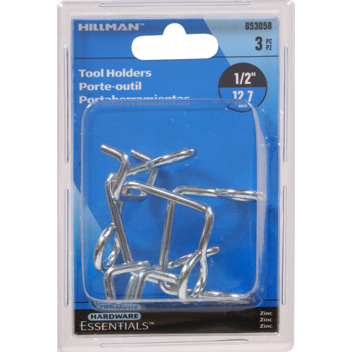 Zinc Plated Tool Holder 0.148 x 1/2 in.