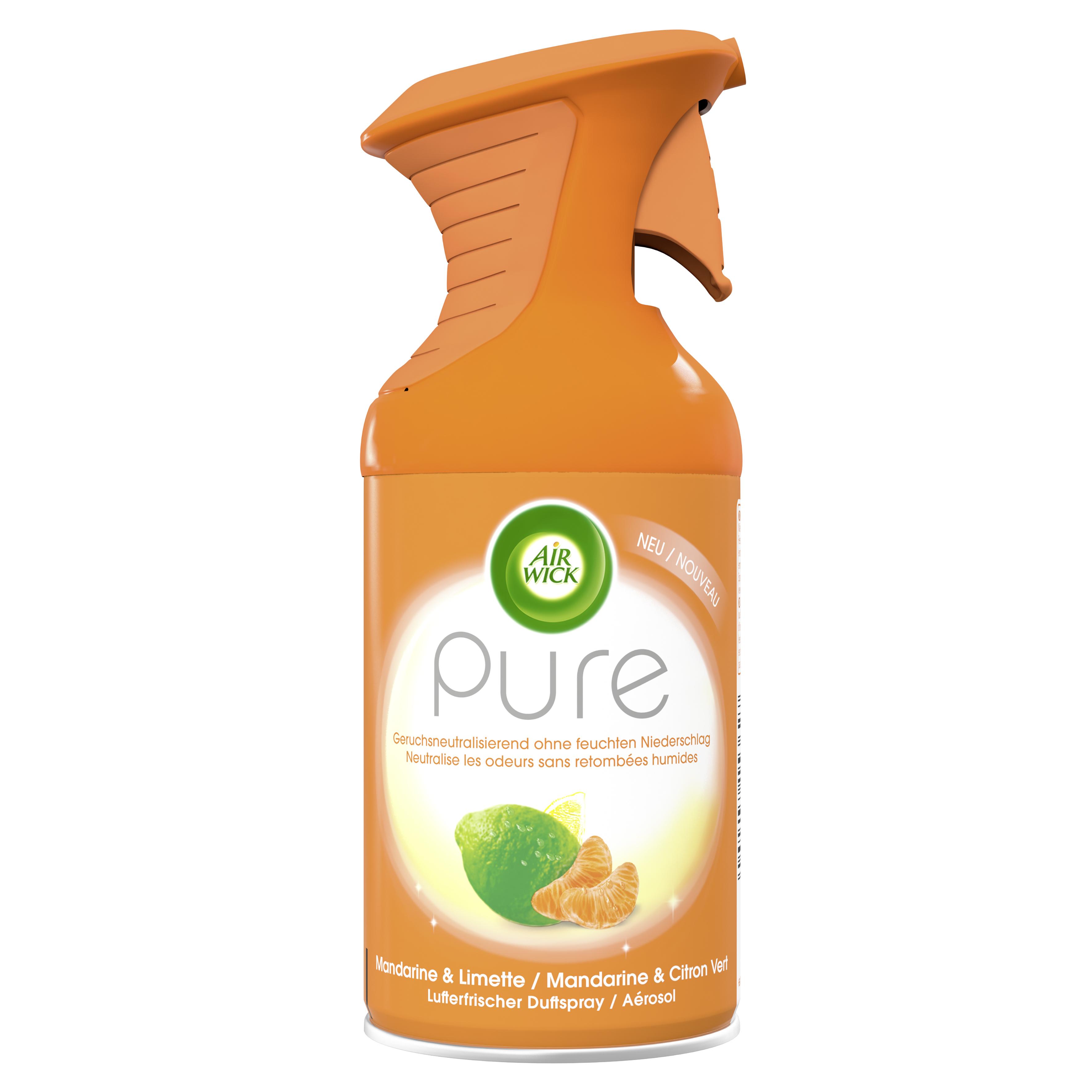 Air Wick Premium-Duftspray PURE Mandarine & Limette