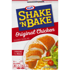 Kraft Shake 'n Bake Original Chicken Seasoned Coating Mix 4.5 oz Box