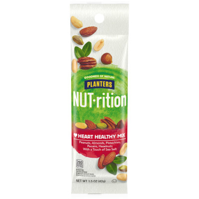 Planters NUT-rition Heart Healthy Mix 1.5 oz Bag