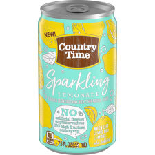 Country Time Sparkling Lemonade 7.5 fl oz Can