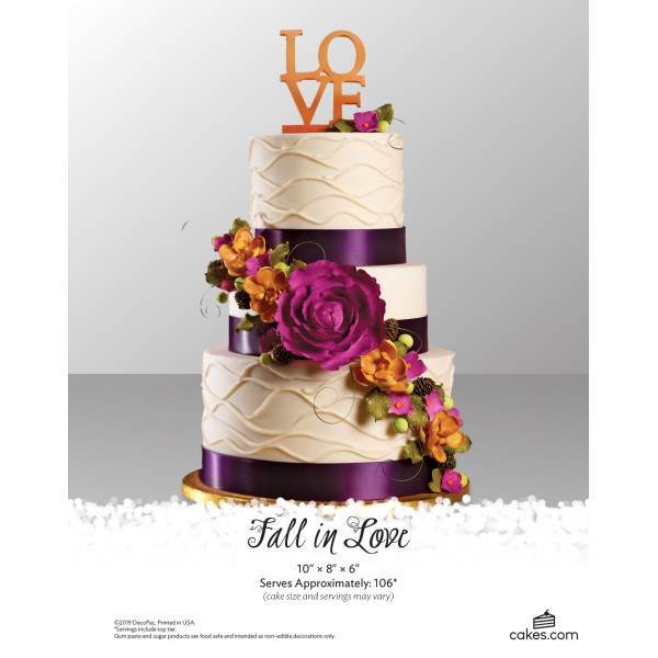 Fall in Love Wedding The Magic of Cakes® Page