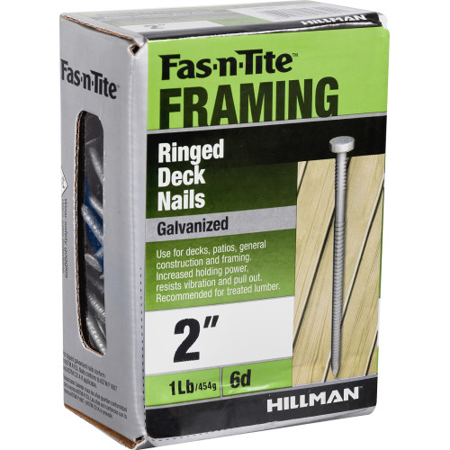 Fas-n-Tite Hot-Dipped Galvanized Ringed Deck Nails 2