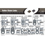 Roller Chain Links Assortment (#2040, 2050, 2060 & 2080)