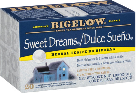 Te de Dulce Sueno de Hierbas - Case of 6 boxes- total of 120 teabags