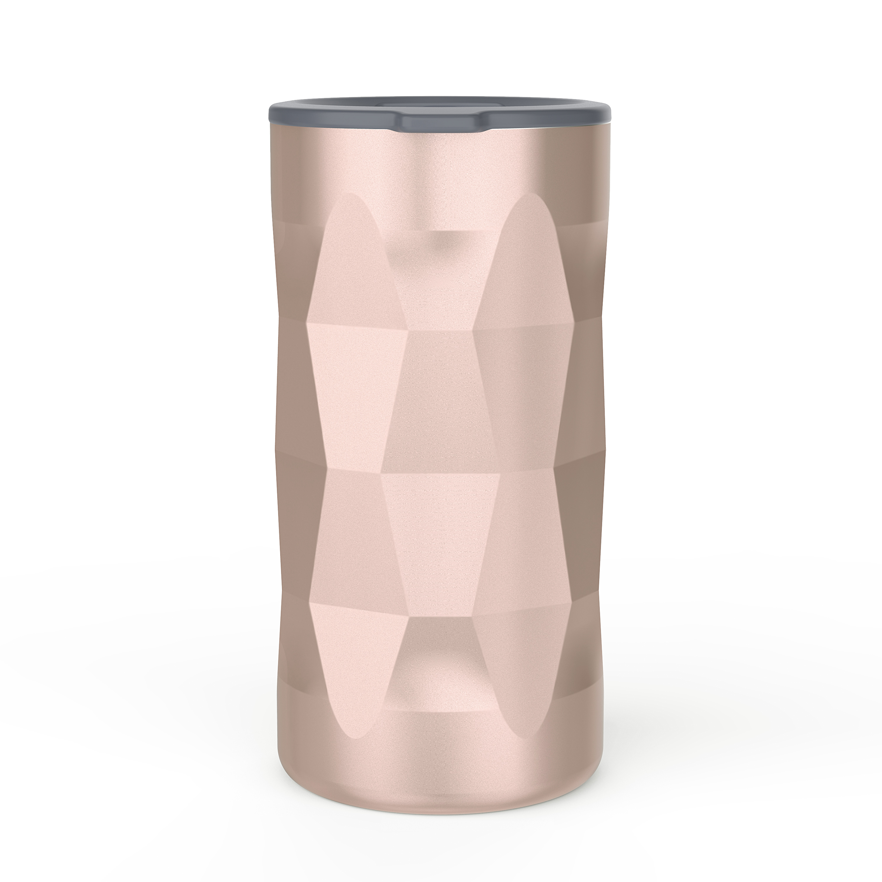 Fractal 12 ounce Vacuum Insulated Stainless Steel Tumbler, Rose Gold slideshow image 3