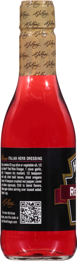 Heinz Gourmet Red Wine Vinegar, 6 - 12 fl oz Bottles