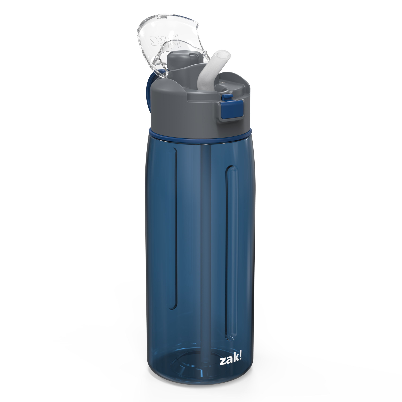 Genesis 32 ounce Water Bottle, Indigo slideshow image 2