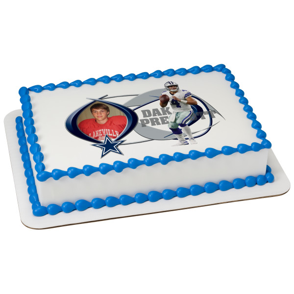 NFL Player PhotoCake® Edible Image® Frame