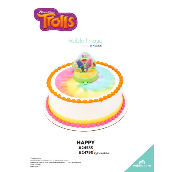 DreamWorks - Trolls Happy DecoSet® The Magic of Cakes® Page