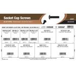 """Button-Head Socket Cap Screws Assortment (3/8""""-16 thru 5/8""""-11 Thread)"""