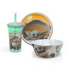 Star Wars: The Mandelorian Kids Dinnerware Set, The Child (Baby Yoda), 3-piece set slideshow image 1
