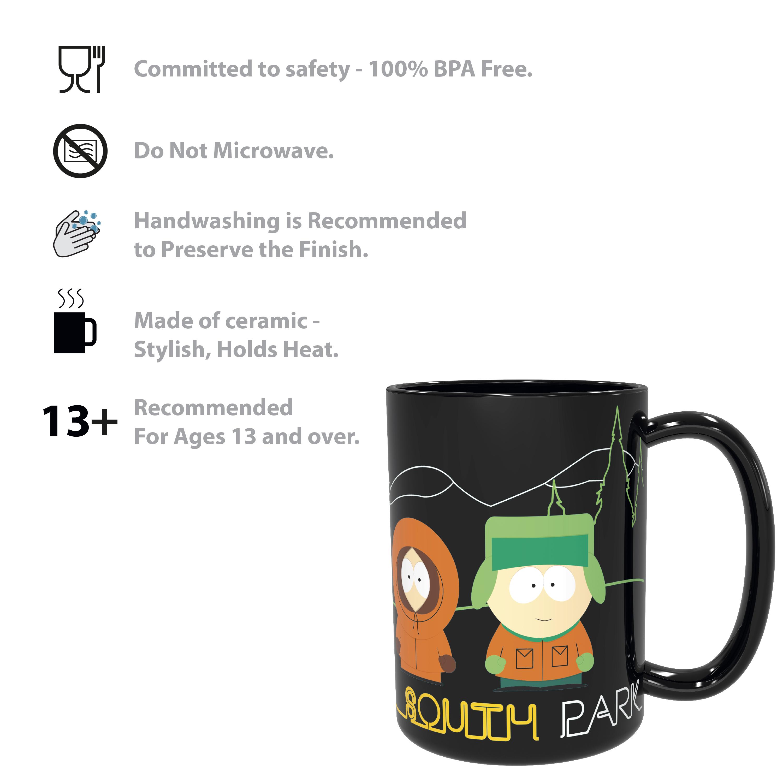 South Park 15 ounce Coffee Mug, Cartman, Kenny & Kyle slideshow image 9