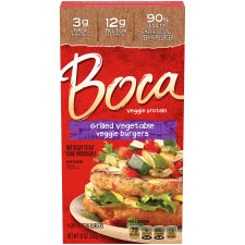 BOCA Grilled Vegetable Veggie Burgers 4ct 10.0 oz
