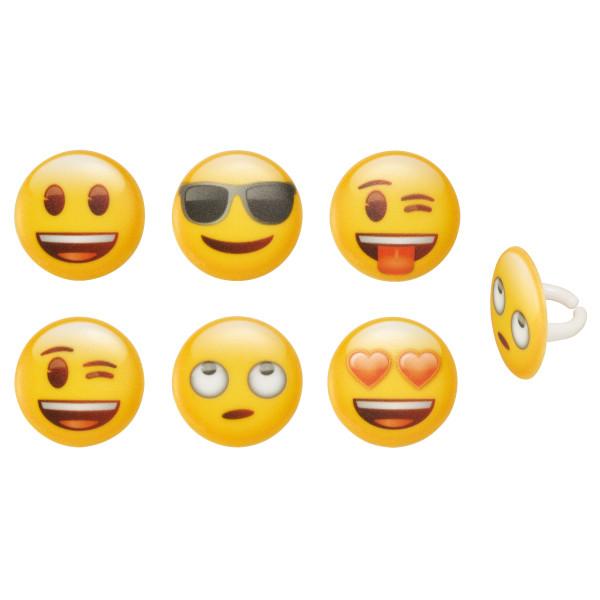 emoji® Assortment Cupcake Rings