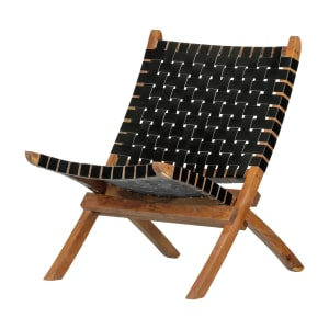 Balka - Woven Leather Lounge Chair