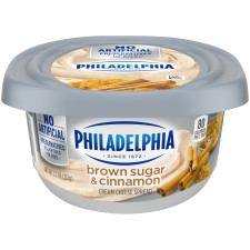 Philadelphia Brown Sugar Cream Cheese Spread 7.5 oz Tub
