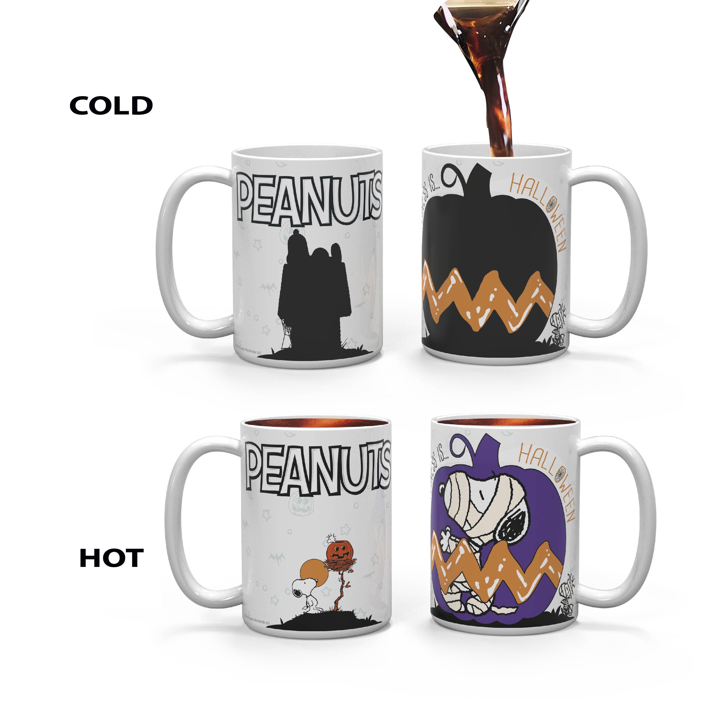 Peanuts 15 ounce Coffee Mug and Spoon, The Great Pumpkin slideshow image 5