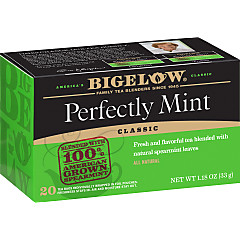 Perfectly Mint® Tea (Formerly Plantation Mint) Case of 6 boxes - total of 120 teabags