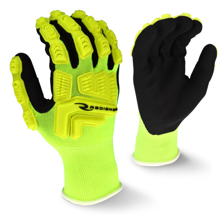 Radians RWG21 High Visibility Work Glove with TPR