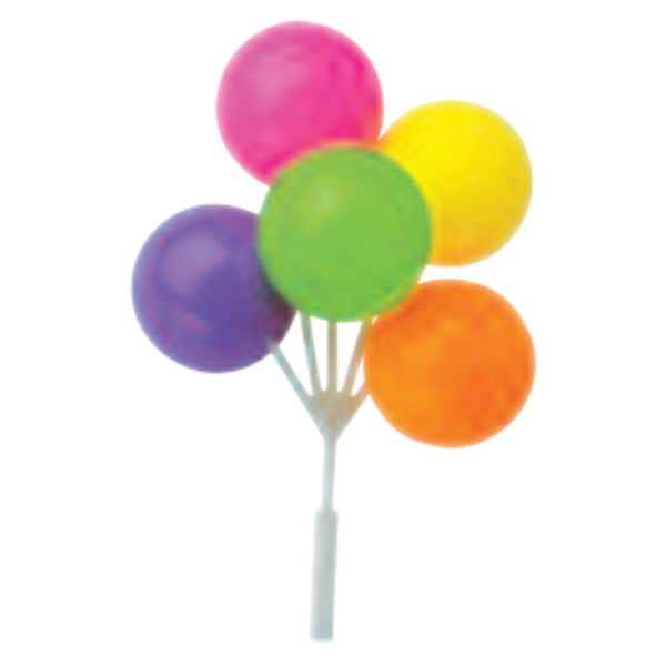 Neon Balloon Cluster DecoPics®