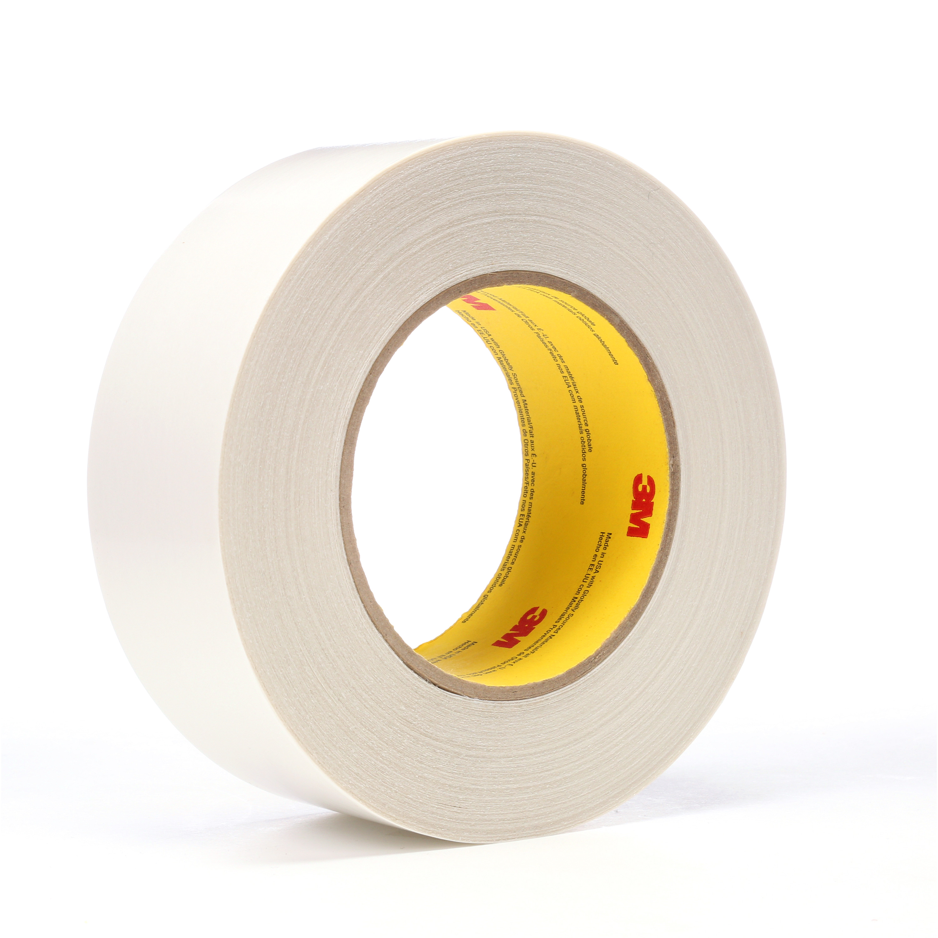 3M™ Double Coated Tape 9737, Clear, 48 mm x 55 m, 3.5 mil, 24 rolls per case