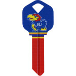 NCAA University of Kansas Key Blank