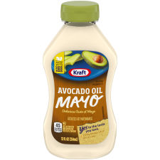 Kraft Avocado Oil Mayonnaise 12 fl oz Squeezable Bottle