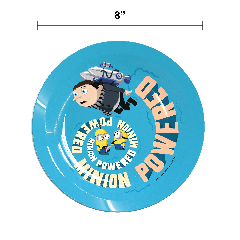 Minions 2 Movie Kid's Dinnerware Set, Minions and Felonius Gru, 3-piece set slideshow image 7