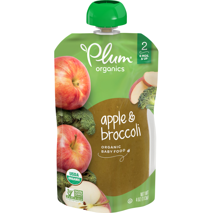 Apple & Broccoli Baby Food
