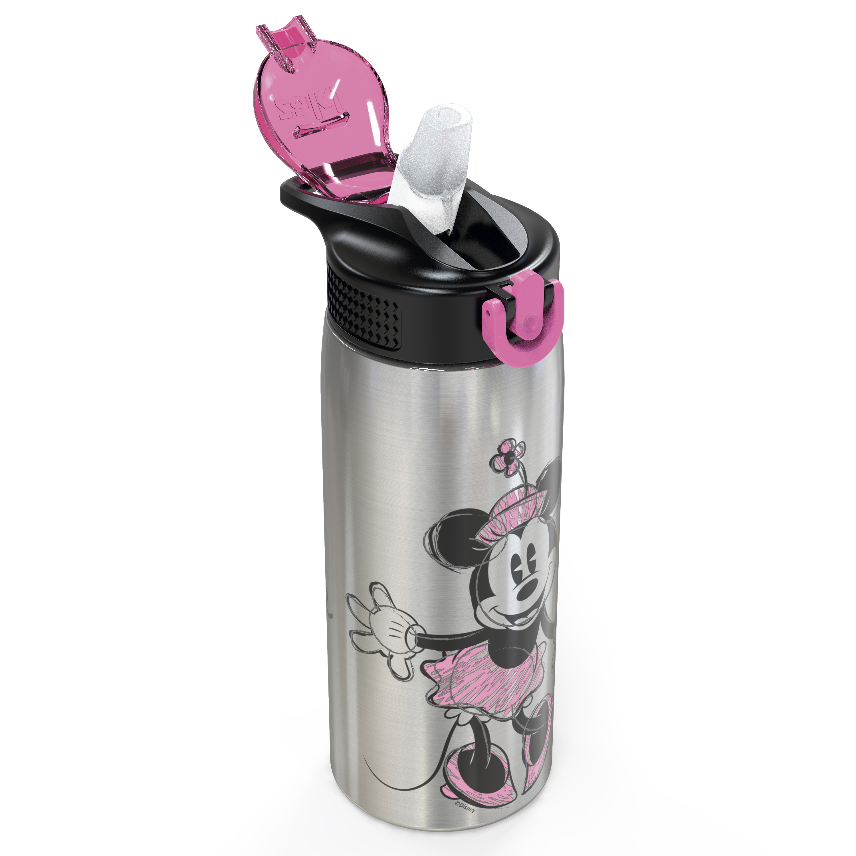 Disney 27 ounce Water Bottle, Minnie Mouse slideshow image 4