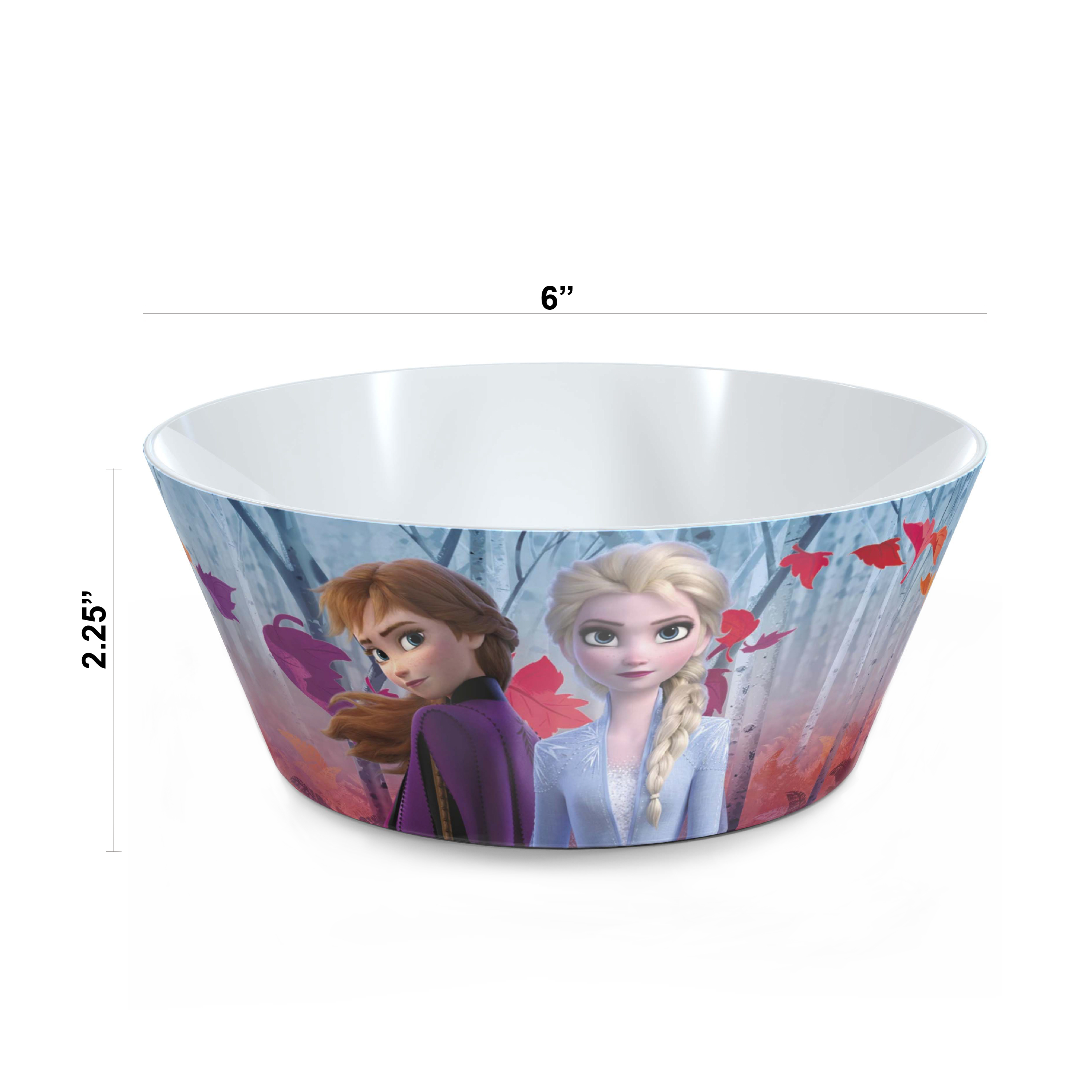 Disney Frozen 2 Movie Dinnerware Set, Anna and Elsa, 5-piece set slideshow image 6