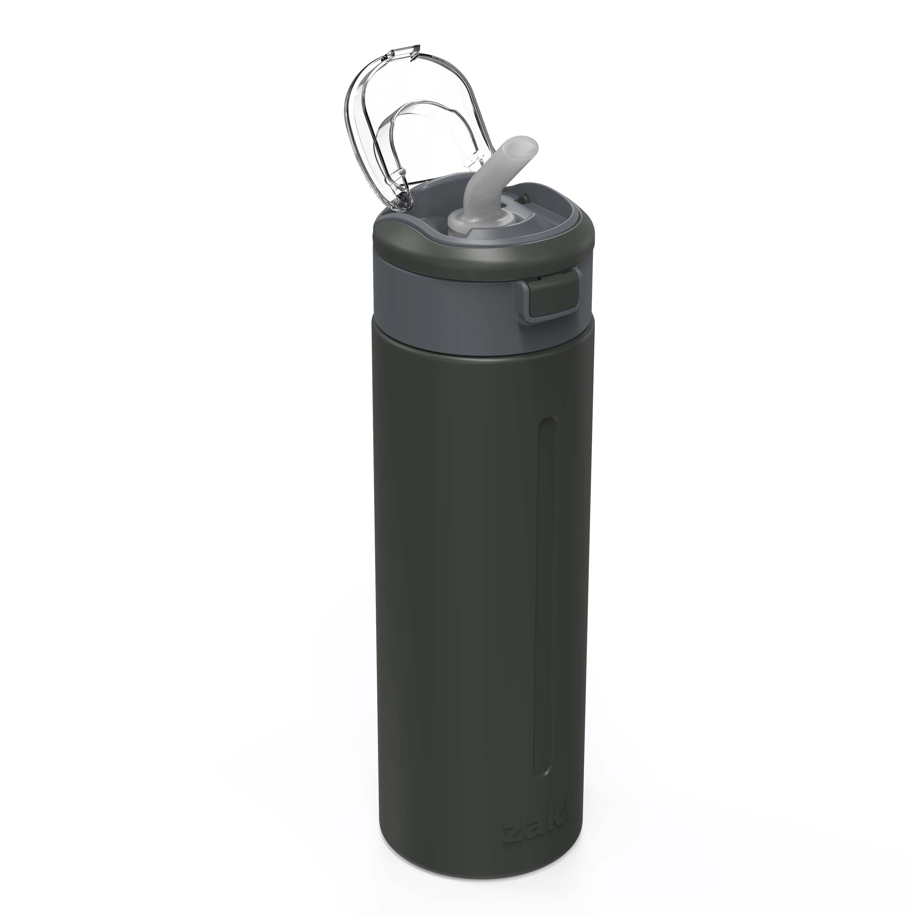 Genesis Vaccum Insulated Stainless Steel Water Bottle, Charcoal slideshow image 4