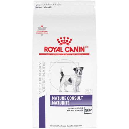 Royal Canin Veterinary Diet Canine Mature Consult Small Dog Dry Dog Food