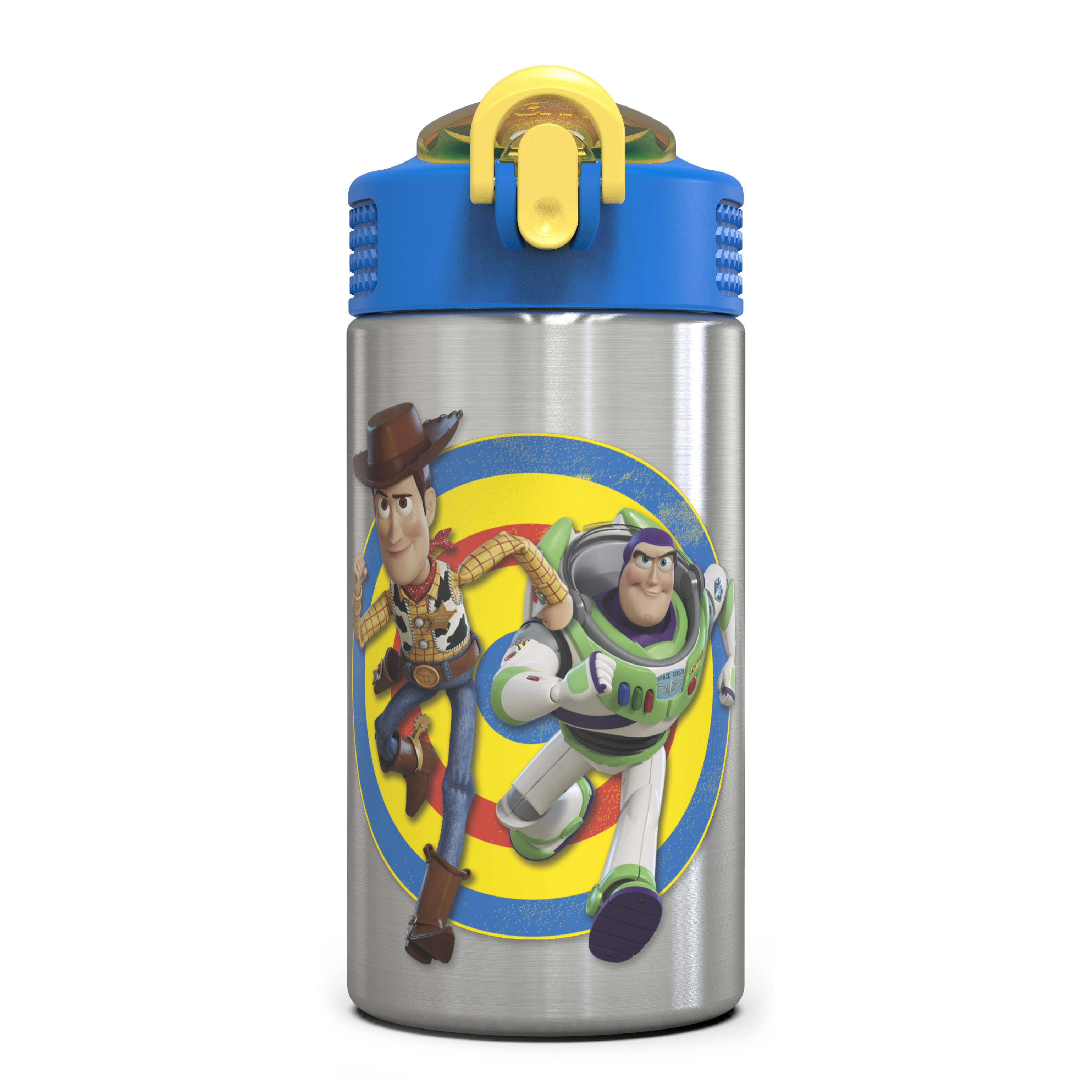 Toy Story 4 15.5 ounce Water Bottle, Buzz & Woody slideshow image 2