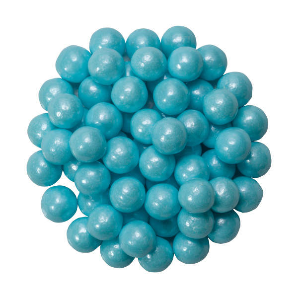 Shimmer Powder Blue Sugar Candy Decorations
