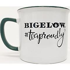 White/Green #TeaProudly Mug