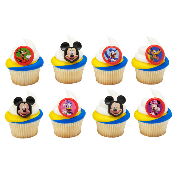 Mickey and The Roadster Racers Fun Together Cupcake Rings