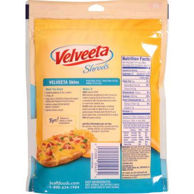 Velveeta Shreds Original Flavor Cheese 8 oz Bag