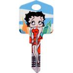 Betty Boop New York Key Blank