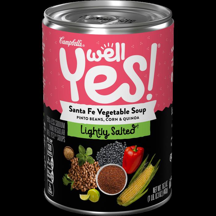 Lightly Salted Santa Fe Vegetable Soup